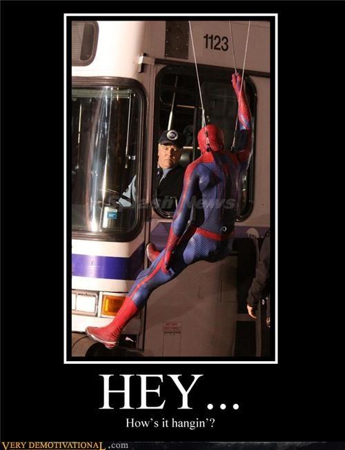 bus,hilarious,Movie,pun,Spider-Man