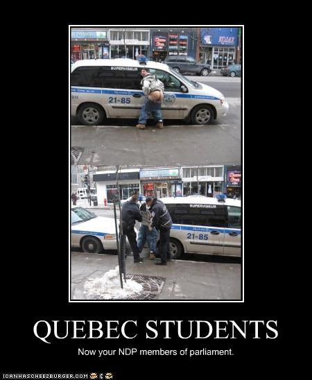 QUEBEC STUDENTS