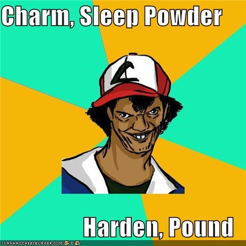 Dat Ash: He Can Only Learn Four Moves