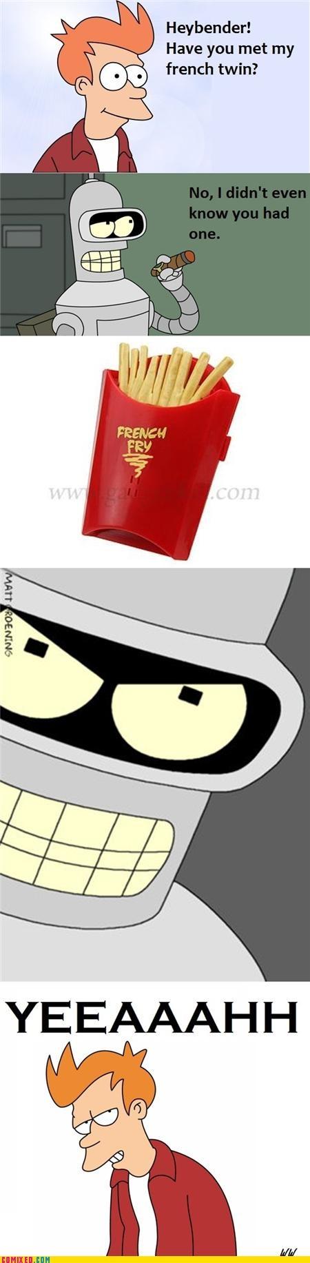 Puns Make Bender Angry...