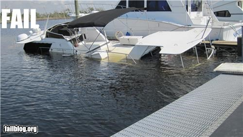 Houseboat FAIL