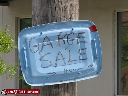 engrish,garage,sale