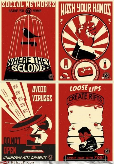 office guidelines,posters