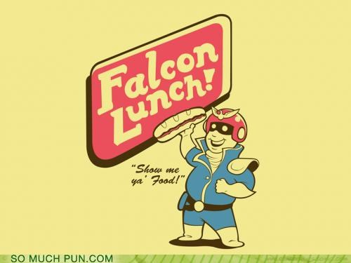 attack,brawl,captain falcon,falcon,falcon punch,Hall of Fame,literalism,lunch,melee,move,rhyme,rhyming,super smash bros