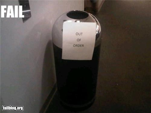 Out of Order Fail