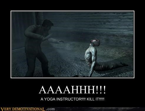 scary,video games,wtf,yoga