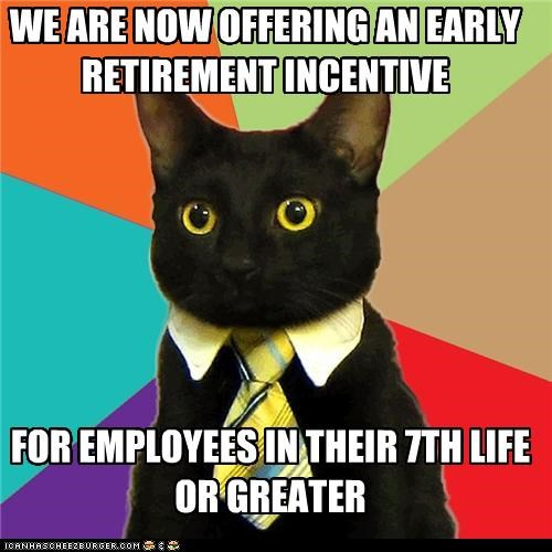 animemes,Business Cat,cat,greater,lives,nine,second life,seventh