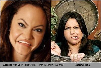 Angelina Jolie,angelina not so jolie,miley cyrus,Rachael Ray