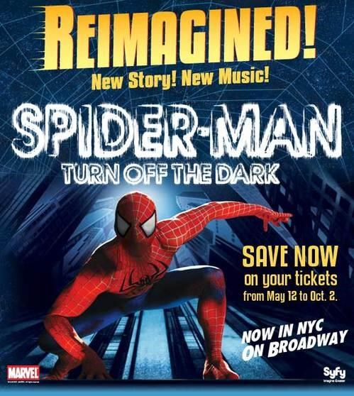 Spider-Man Musical Relaunch of the Day