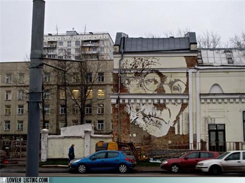 art,faces,murals,negative space