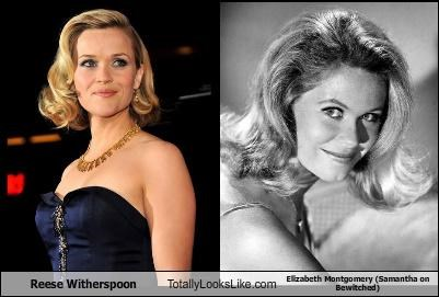 Reese Witherspoon Totally Looks Like Elizabeth Montgomery (Samantha on Bewitched)