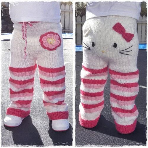 Hello Kitty Pants of the Day