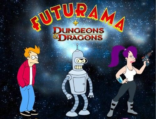 Futurama D&D Characters of the Day
