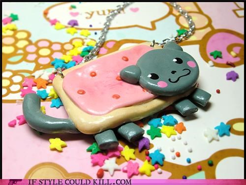 cool accessories,necklaces,Nyan Cat