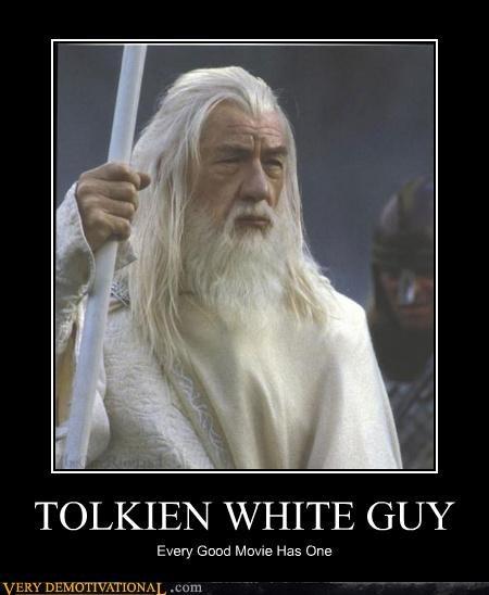 TOLKIEN WHITE GUY