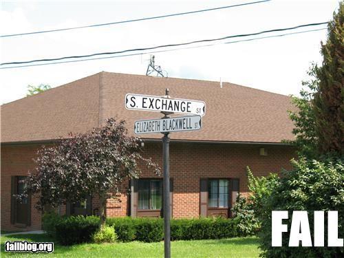 CLASSIC: Street Name FAIL