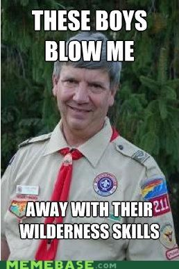 Creepy Scout Leader: Their Jobs Will Be Secure