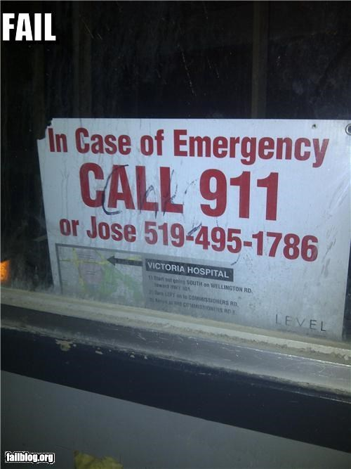 911,alternatives,emergency,failboat,g rated,oh canada,signs