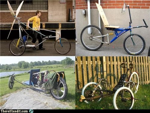 Backwards Bicycles