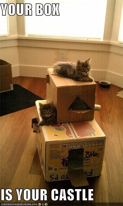 YOUR BOX  IS YOUR CASTLE