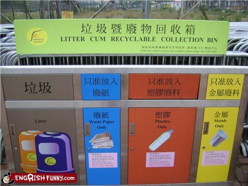 Reduce, Re-Use, Unrecycle