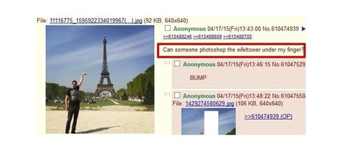 4chan,photoshop,eiffel tower
