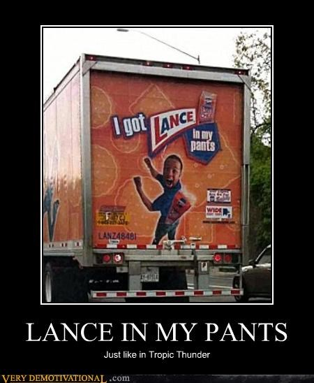 LANCE IN MY PANTS