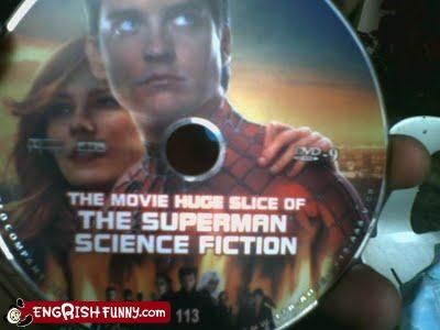 DVD,lost in translation,Spider-Man,superman