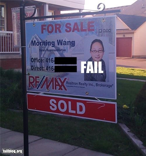 Real Estate Agent FAIL