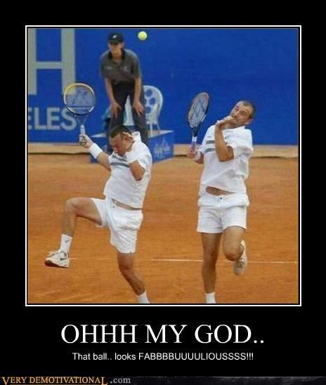 fabulous,hilarious,scared,tennis