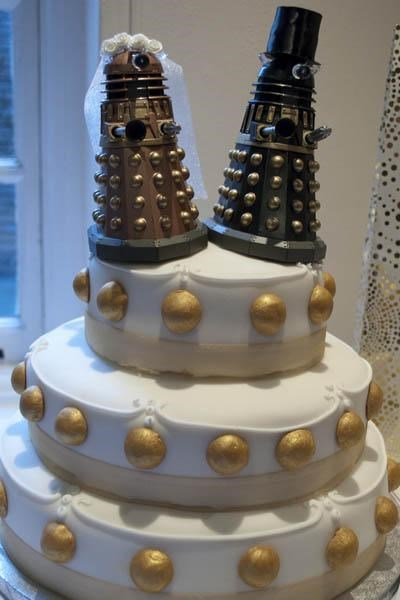 Dalek Wedding Cake of the Day