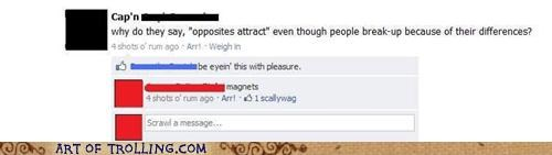 couples,facebook,magnets,opposites attract