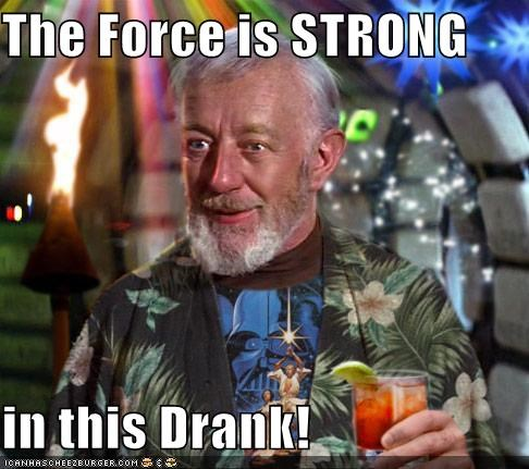 The Force is STRONG  in this Drank!