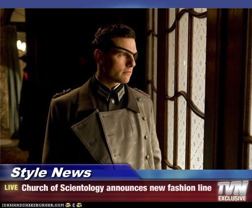 Style News - Church of Scientology announces new fashion line