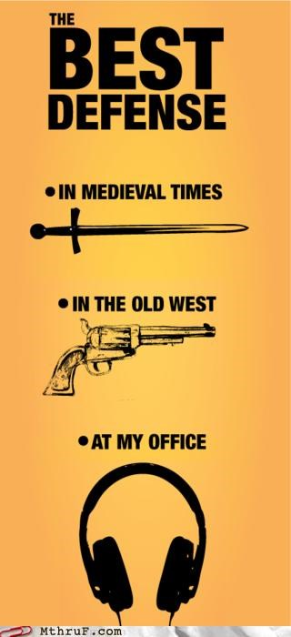 Modern Workplace Weaponry