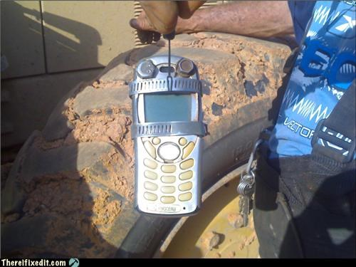 Venezuelan Working Man's Phone