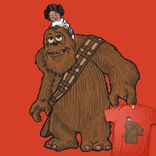 Star Wars Meets Pixar Tee of the Day