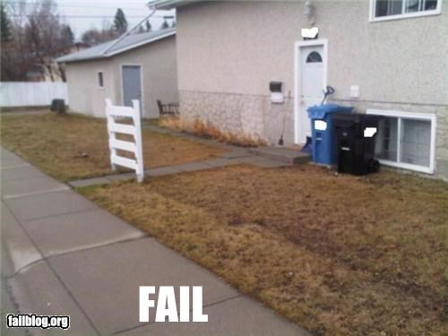failboat,fence,g rated,home improvement,pointless,unnecessary