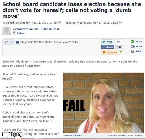 failboat,g rated,politics,poll,Probably bad News,school,voting