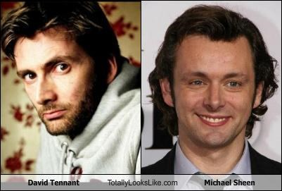 David Tennant Totally Looks Like Michael Sheen