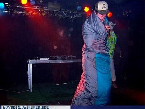 dance,show,sleeping bag,wtf