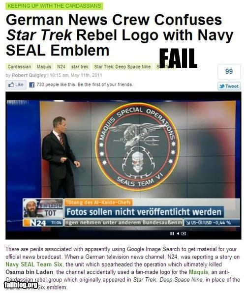 Probably Bad News: Logo Identification FAIL