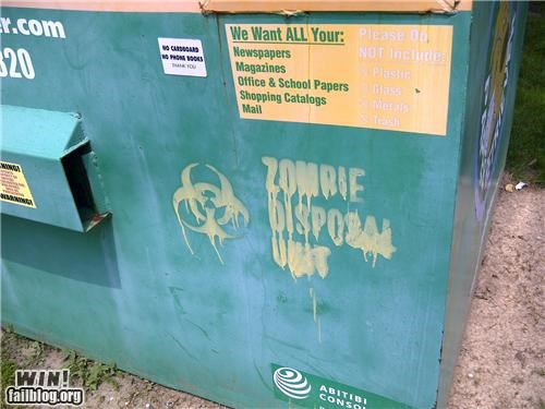 Hacked IRL: Recycling the Undead