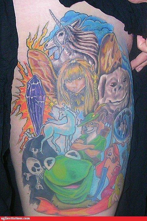 animals,bones,cartoons,movies,mythical creatures,pop culture,television,the eighties,unicorns