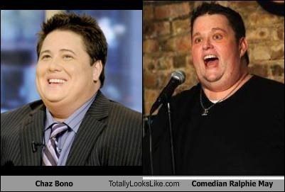 Chaz Bono Totally Looks Like Comedian Ralphie May