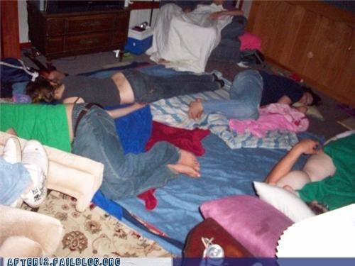 Unintentional Slumber Party!