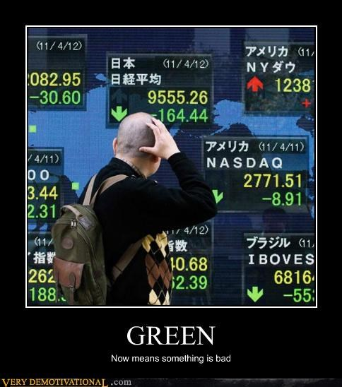 bad,good,green,hilarious,stock exchange