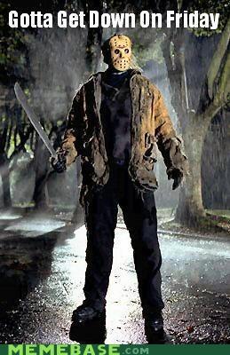 FRIDAY,horror,jason,movies,Rebecca Black,sword