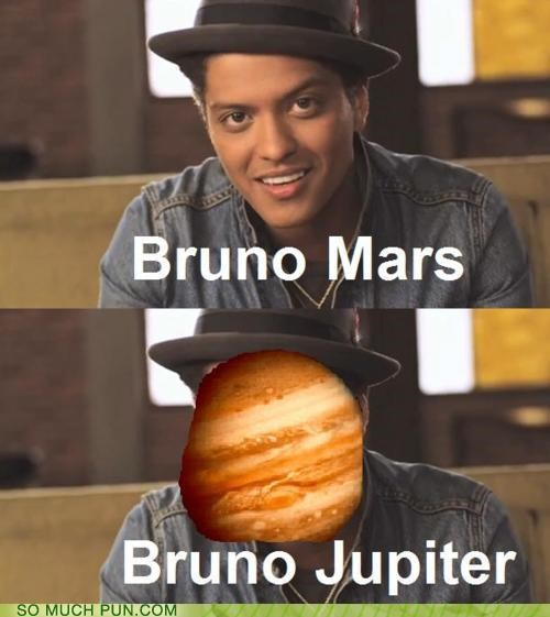 bruno mars,grenade,jupiter,literalism,lyric,planet,planets,song,surname
