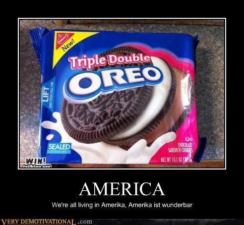 america,double,hilarious,oreo,triple